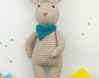 crochet amigurumi bunny rabbit soft toy