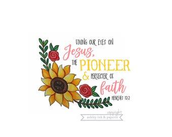 Notecard ~ Pioneer