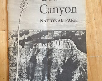 Grand Canyon National Park pamphlet