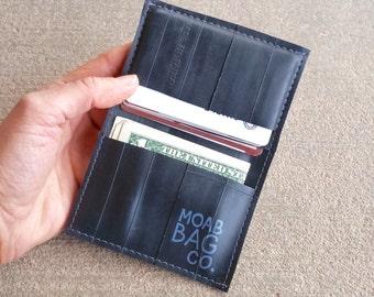 Bike Tube Wallet - Mens Vegan Wallet - Recycled Inner Tube Wallet
