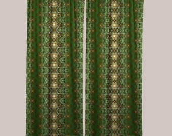 Entheopassage Curtains (1 Panel)  // Psychedelic Men and Womens Festival Clothing, Accessories & Decor by Samuel Farrand