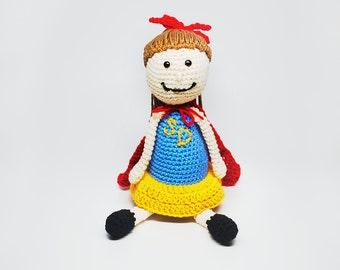 Custom Superhero Doll - Custom Doll - Super Girl Doll - Doll with Glasses - Stuffed Superhero Doll - Stuffed Doll -- Kid's Birthday Gift