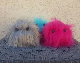 Baby Monster Plush - Cute Fur Stuffed Monster