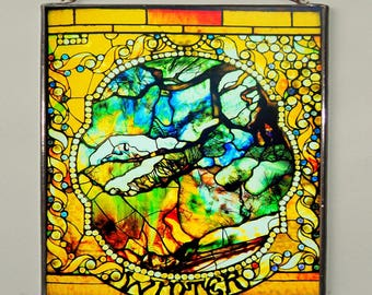 Louis Comfort Tiffany - Winter, Stained Glass
