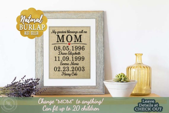 Mothers Day Gift Mothers Day Gift Mom Mothers Day from