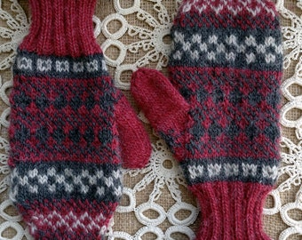 Knitting patterns, knitting, knitted mittens, mittens, fair isle gloves, fair isle, knit, hand knitted, patterns, gifts for knitters, gloves