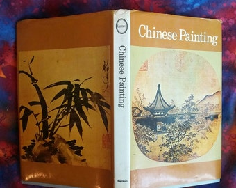 Chinese Painting Asian Art History Book Hardback 1969 Art of China Book by Mario Bussagli