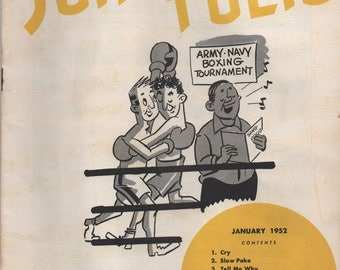 Armed Forces Song Folio, January 1952, Cry, Slow Poke, Tell Me Why, The Little White Cloud That Cried, Charmaine, Bermuda, Solitaire