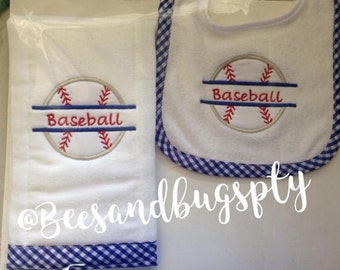 Take Gas and personalized for baby, baby shower, embroidered bib