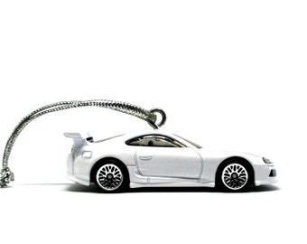 Fast and Furious Toyota Supra Hot Wheels Car Ornament