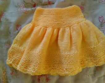 Yellow Baby Dress