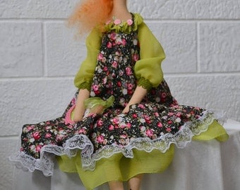 SALE!!! Tilda style handmade doll. Cloth doll.