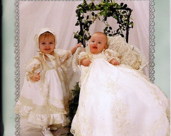 Elegant Sewing for Baby Martha Pullen Martha's Sewing Room Heirloom Sewing Christening Gowns Bonnets Layettes Booties Bibs Blankets