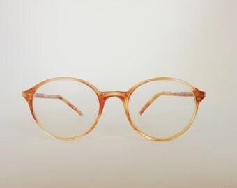 80s Lozza eyeglasses round lens