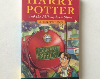 Vintage Harry Potter and the Philosopher's Stone