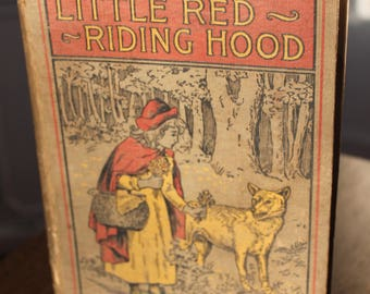 1898 Little Red Riding Hood And Other Stories Vintage Antique Hardcover