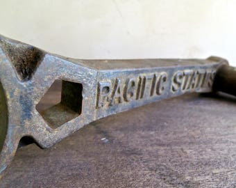 Pacific States Cast Iron Wrench Tool,