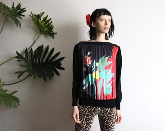 Floral Silk Woven Blouse