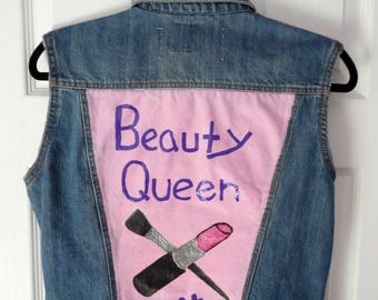 Beauty Queen denim vest
