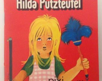 German Pixi Book,Hilda Putzteufel, Carlsen Verlag, 1973