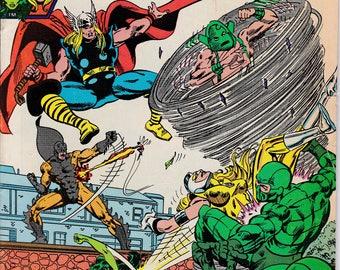 Avengers #222 August 1982 Issue - Marvel Comics - Grade VG