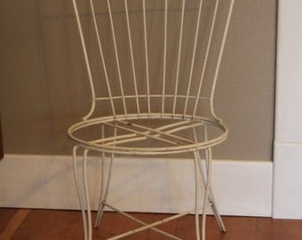 Homecrest Mid Century Rustic Metal Chairs