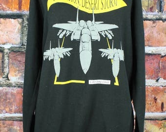 Operation Desert Storm 1991 Vintage Sweatshirt