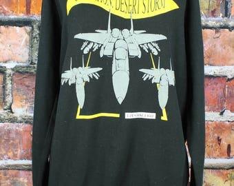 Operation Desert Storm 1991 Vintage Sweatshirt