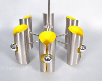 Mid Century modern space-age design lamp made by the Dutch company  Raak