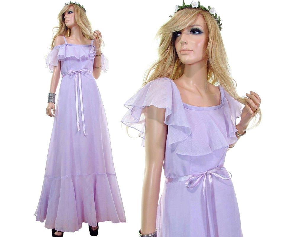 70s Wedding Dress 70s Dress 70s Bridal Dress Beach Bride