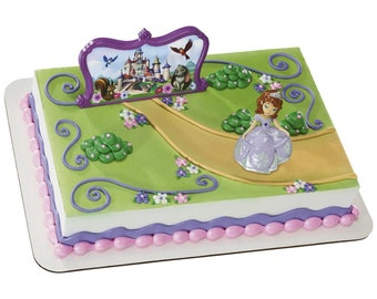 Sofia the First My Sweet Cake Decoration / Sofia the first theme party/ Cake topper /