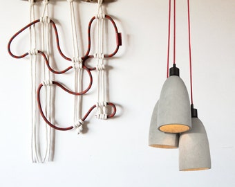 Contemporany Macrame wallart / wallhanging / Ranran Design