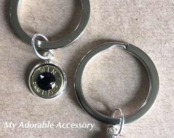 Bullet Keychain, Winchester Bullet Crystal Keychain