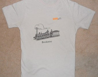 Vintage Original 1970s DORCHESTER MASSACHUSETTS Train Super Soft T Shirt S