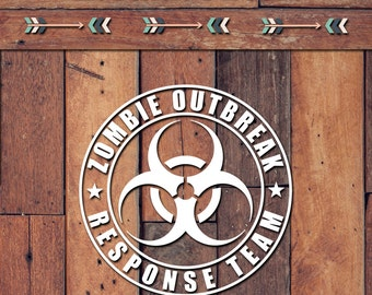 Zombie Outbreak Response Team Decal | Yeti Decal | Yeti Sticker | Tumbler Decal | Car Decal | Vinyl Decal
