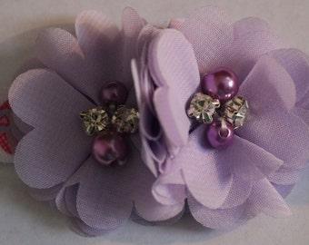 Easter Headband, Baby Easter Headband, Infant Easter Headband, Easter Egg Headband, Pink and Purple Headband