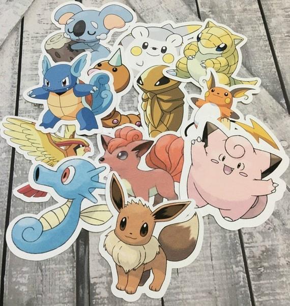 Die Cuts - Pokemon,Pokemon Go,Cut Outs,Scrapbooking,Paper Embellishments, Scrapbooking Die Cuts,Pokemon Party, Pokemon Banner,Pokemon Vers 2