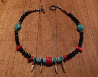 """Wolf Tooth Necklace 18"""" Wolf Pendant Wolf Teeth Wolf Native American Wolf Real Wolf Tooth Wolf Teeth Necklace Tooth Necklace Wolf Jewelry"""