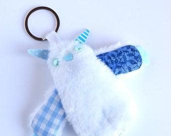MiniMobbo plush Keychain white