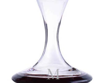 Personalized Engraved Crystal Infinity Wine Decanter by Ravenscroft-Free Shipping