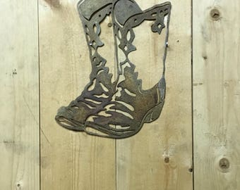Metal Boots, Western