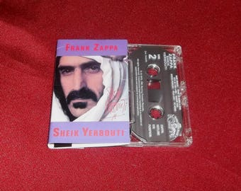 Frank Zappa Cassette  Sheik Yerbouti  Psychadelic Guitar Art Rock for your Sony Walkman