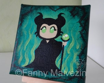 Maleficent - Mini painting