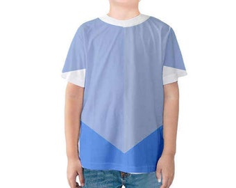 Kid's John Smith Pocahontas Inspired Disneybound Shirt