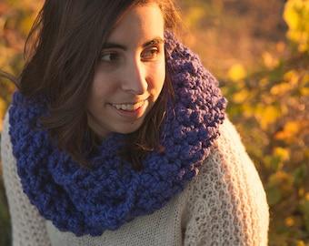 Scarf circular/Wool Infinity scarf/Kathy Scarf