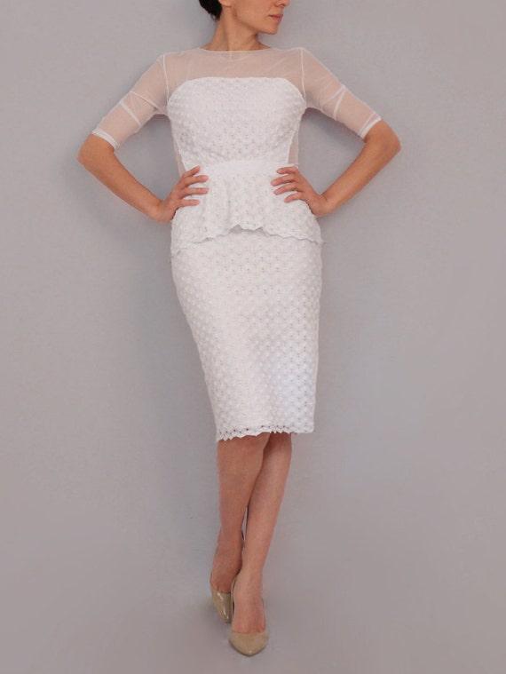 Short pencil skirt wedding dress foto bugil bokep 2017 for Pencil dress for wedding