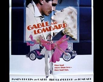 Gable & Lombard Original Movie Poster
