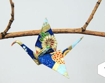 "Pins ""oriental Azur"" origami cranes"