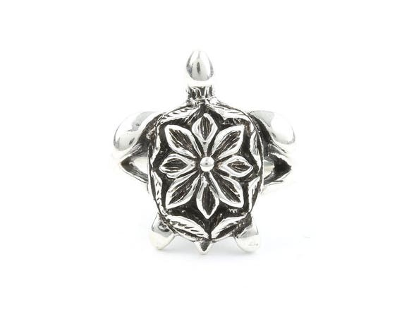 Sterling Silver Turtle Ring, sea turtle, Nautical, Beach, Coastal, Hawaiian, Boho, Bohemian, Festival, Hippie, Gypsy, Animal Jewelry