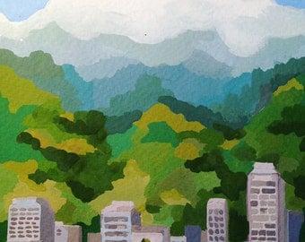 Original Rio De Janeiro Painting